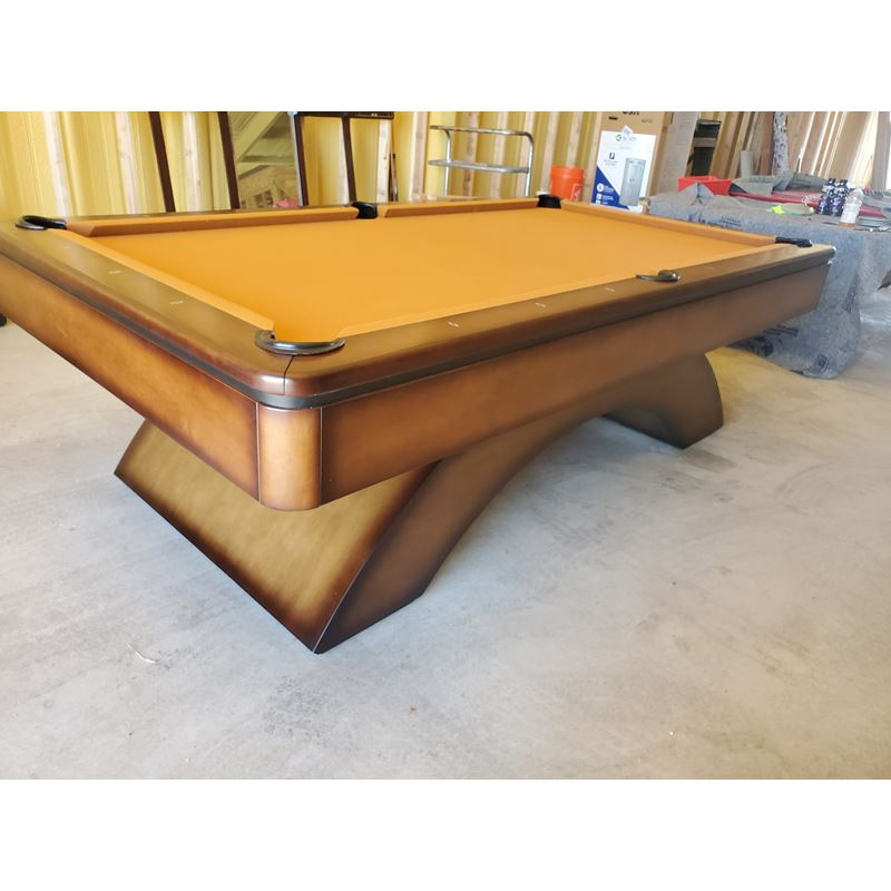 "Olhausen ""Waterfall"" 8' Pool Table"